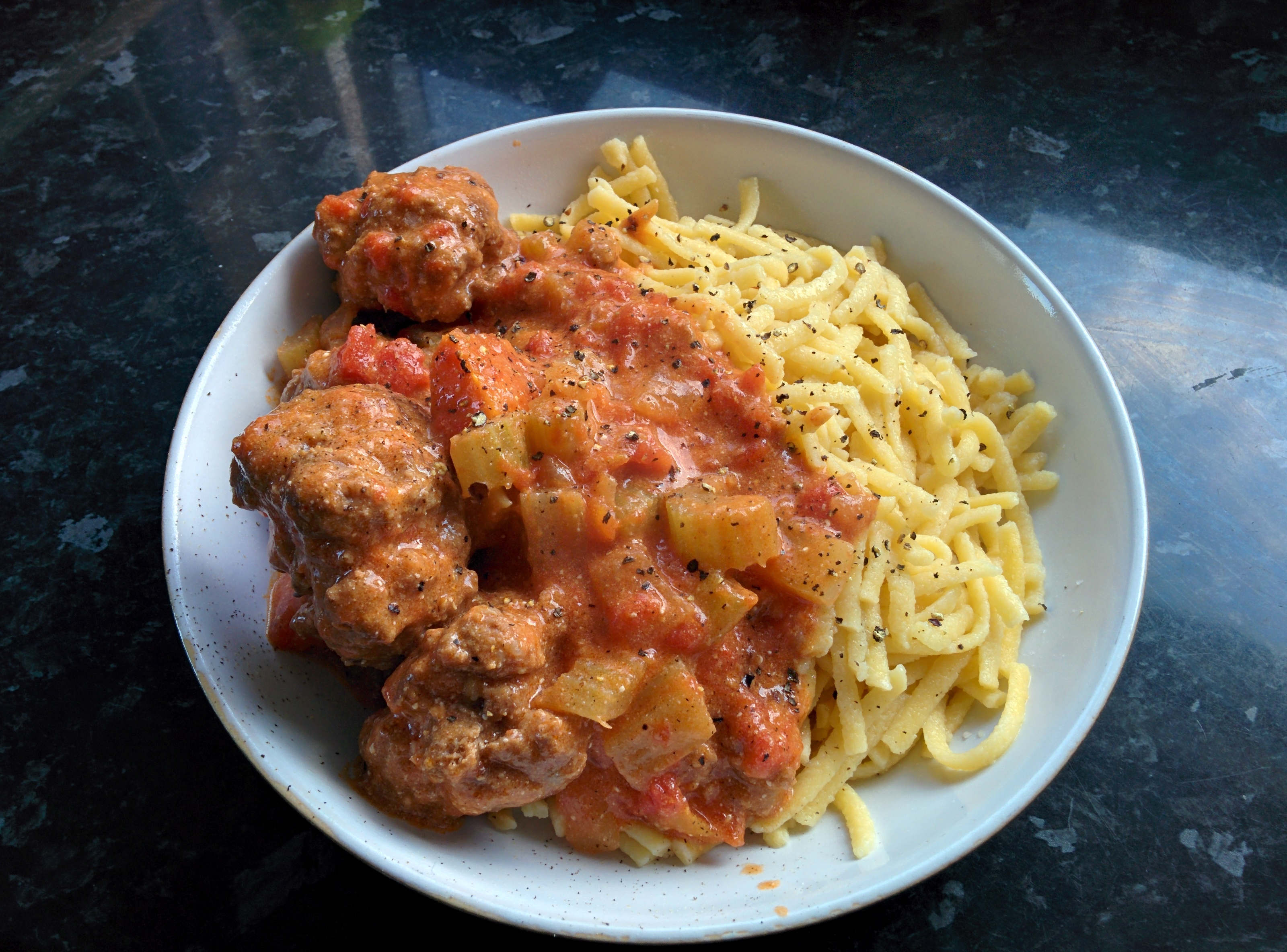 Hungarian Meatballs (fasirt) | Around The World In Fifty-Two Meatballs